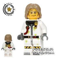 Product shot LEGO Alien Conquest Mini Figure - Toxic Cleanup Scientist