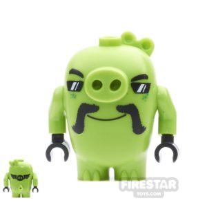 Product shot LEGO Angry Birds Mini Figure - Biker Pig