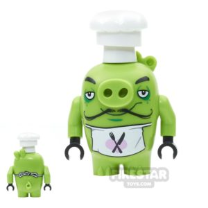 Product shot LEGO Angry Birds Mini Figure - Chef Pig