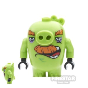Product shot LEGO Angry Birds Mini Figure - Foreman Pig