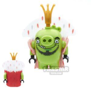Product shot LEGO Angry Birds Mini Figure - King Pig