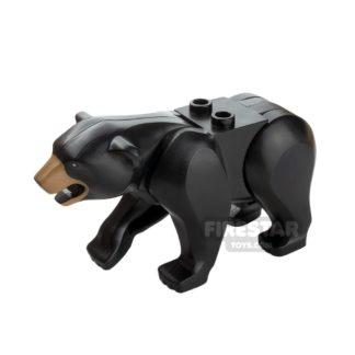 Product shot LEGO Animals Mini Figure - Bear - Black