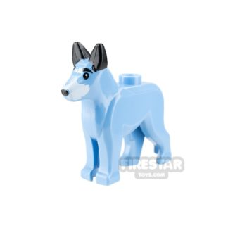Product shot LEGO Animals Mini Figure - Wonder Dog - without Cape
