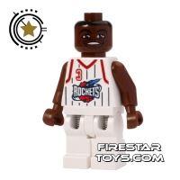 Product shot LEGO Basketball Player - Houston Rockets 3