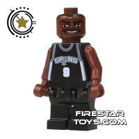 Product shot LEGO Basketball Player - San Antonio Spurs
