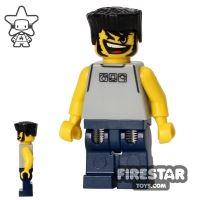Product shot LEGO Basketball Street Player - Grey Sleeveless Top