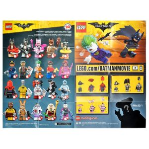 Product shot LEGO - Batman Movie Collectable Leaflet