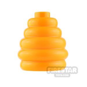 Product shot LEGO - Beehive - Bright Light Orange