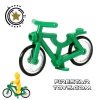 Product shot LEGO - Bicycle - Green