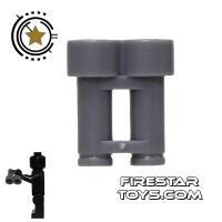 Product shot LEGO - Binoculars - Dark Blueish Gray