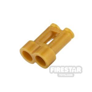 Product shot LEGO - Binoculars - Pearl Gold