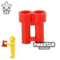 Product shot LEGO - Binoculars - Red