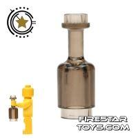 Product shot LEGO - Bottle - Transparent Black