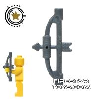 Product shot LEGO - Bow And Arrow - Gray