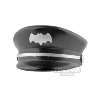 Product shot LEGO - Butler Cap with Batman Logo