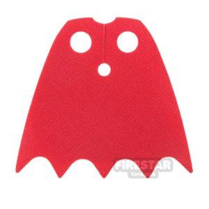 Product shot LEGO Cape - Batman - Red