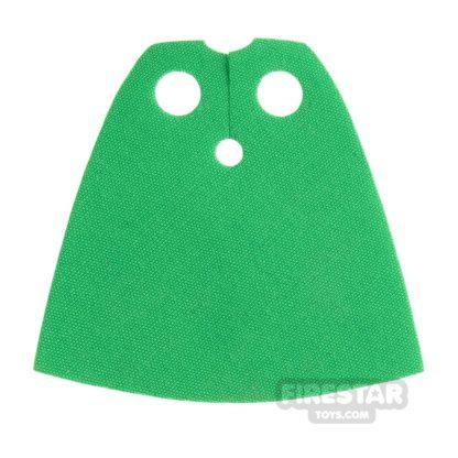 Product shot LEGO Cape - Bright Green