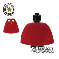 Product shot LEGO Cape - Dark Red