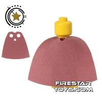 Product shot LEGO Cape - Sand Red
