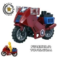 Product shot LEGO - Captain Americas Avenging Cycle