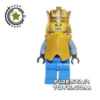 Product shot LEGO Castle - King With Breastplate