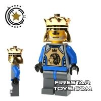 Product shot LEGO Castle - Knights Kingdom II - King Mathias