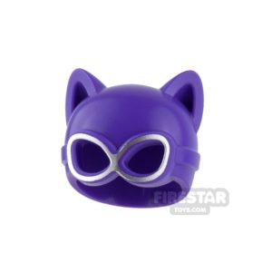 Product shot LEGO - Catwoman Mask - Dark Purple