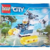 Product shot LEGO City 30311 - Swamp Police Helicopter