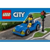Product shot LEGO City 30349 - Sports Car