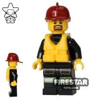 Product shot LEGO City Mini Figure – Fire - Life Jacket 1