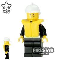 Product shot LEGO City Mini Figure – Fire - Life Jacket 5