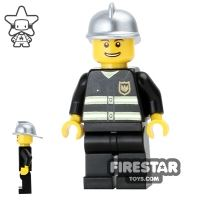 Product shot LEGO City Mini Figure – Fireman - Smile