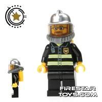 Product shot LEGO City Mini Figure – Fireman With Airtank