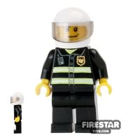 Product shot LEGO City Mini Figure – Fireman With Helmet