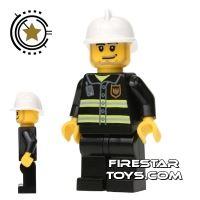 Product shot LEGO City Mini Figure – Fireman