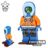 Product shot LEGO City Mini Figure - Arctic Explorer - Snowshoes