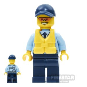 Product shot LEGO City Mini Figure - City Officer