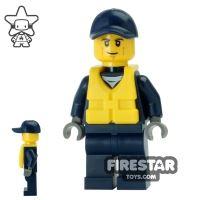 Product shot LEGO City Mini Figure - City Watercraft Police