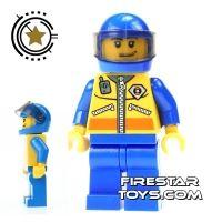 Product shot LEGO City Mini Figure - Coast Guard - ATV Driver