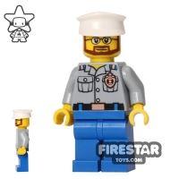Product shot LEGO City Mini Figure - Coast Guard - Captain