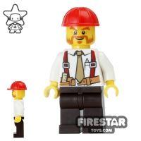 Product shot LEGO City Mini Figure - Construction Foreman