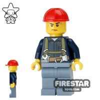 Product shot LEGO City Mini Figure - Construction Worker 18