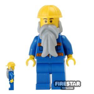 Product shot LEGO City Mini Figure - Construction Worker 19