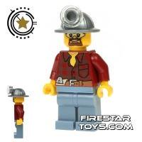 Product shot LEGO City Mini Figure - Miner