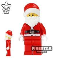 Product shot LEGO City Mini Figure - Santa - Father Christmas