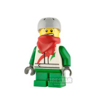 Product shot LEGO City Minifigure Boy with Octan Jacket