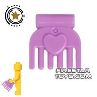 Product shot LEGO - Comb - Medium Lavender