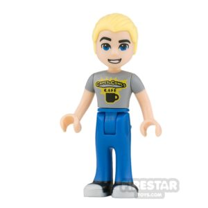 Product shot LEGO DC Super Hero Girls Mini Figure - Steve Trevor
