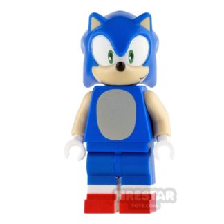 Product shot LEGO Dimensions Mini Figure - Sonic the Hedgehog