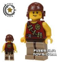 Product shot LEGO Dino Mini Figure - Hero - Tranquilizer Belt